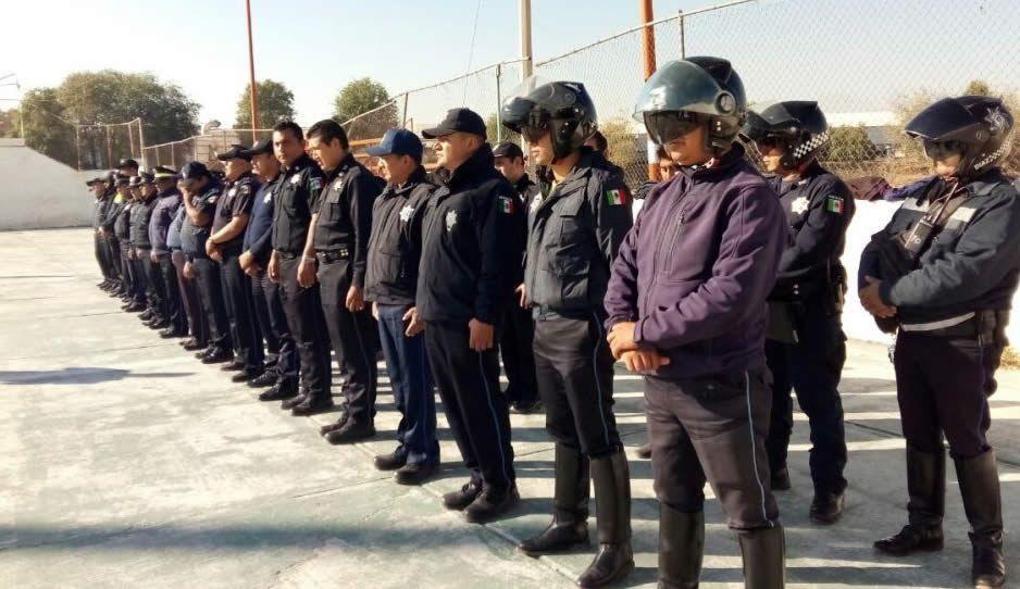 Expulsan a al menos 180 policías en Huejotzingo