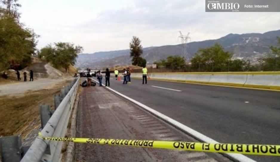 Asesinan a mujer en la súper carretera Cuacnopalan-Oaxaca
