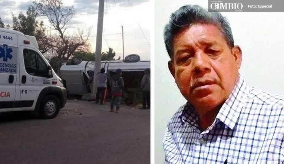 Muere el edil de Cohetzala, tras permanecer tres días hospitalizado