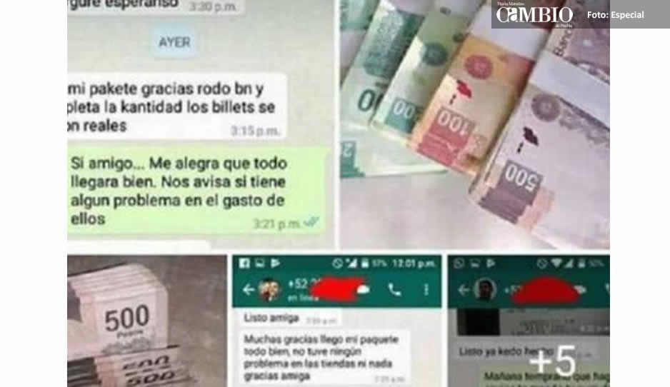 Así se venden billetes falsos en México