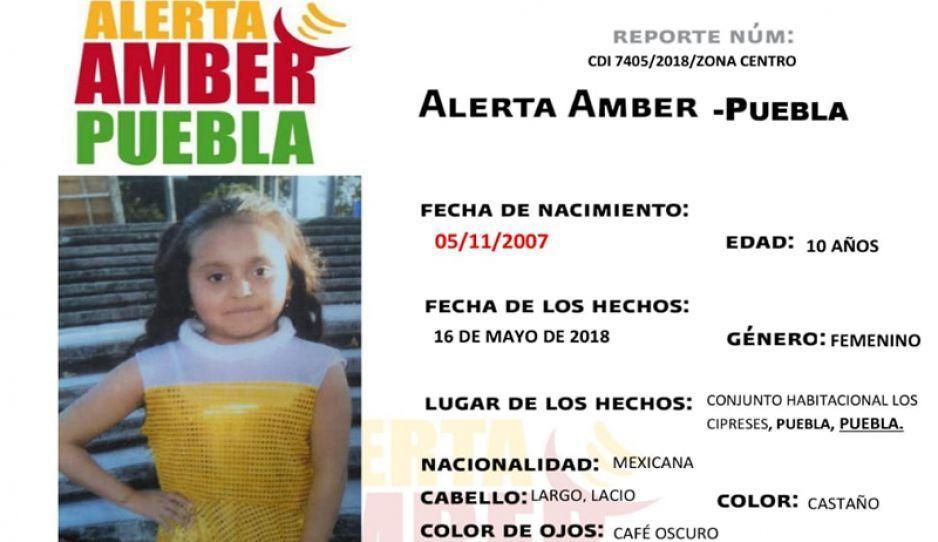 Activan Alerta Amber para encontrar a Mildred Sánchez