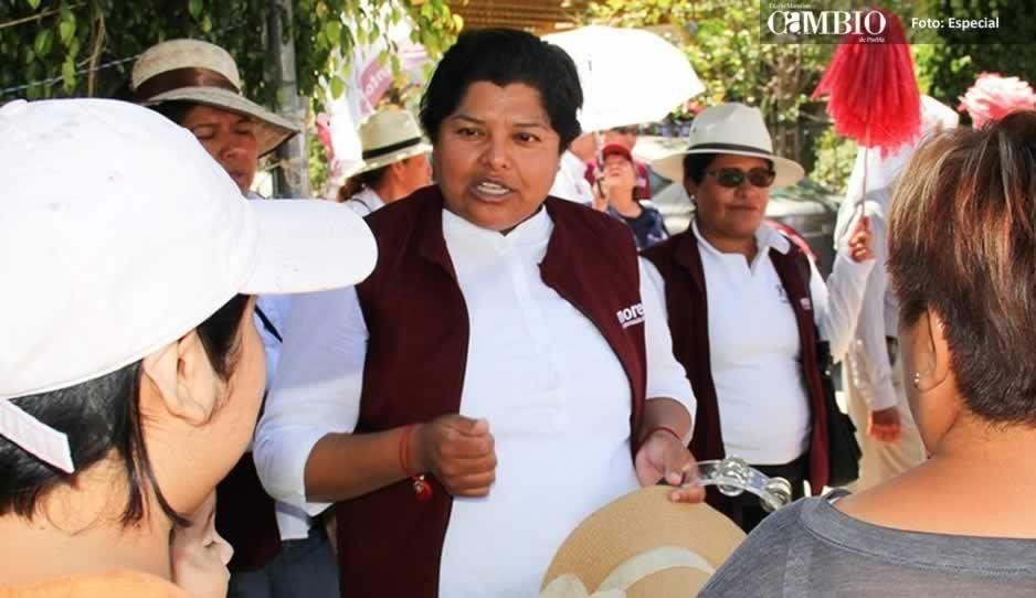 Candidata de Morena en San Andrés dice que aventaja 12 puntos