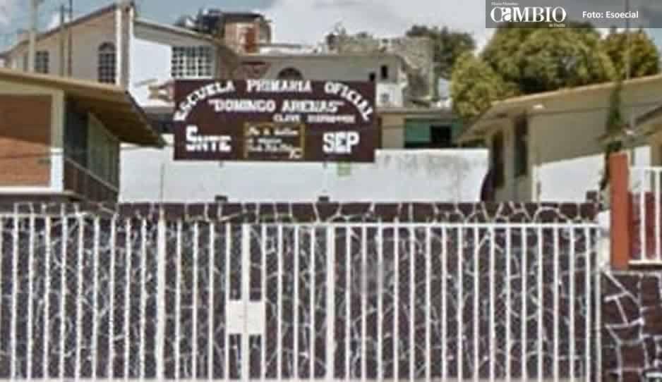 Acusan a maestra de golpear a niños en primaria de Tlahuapan