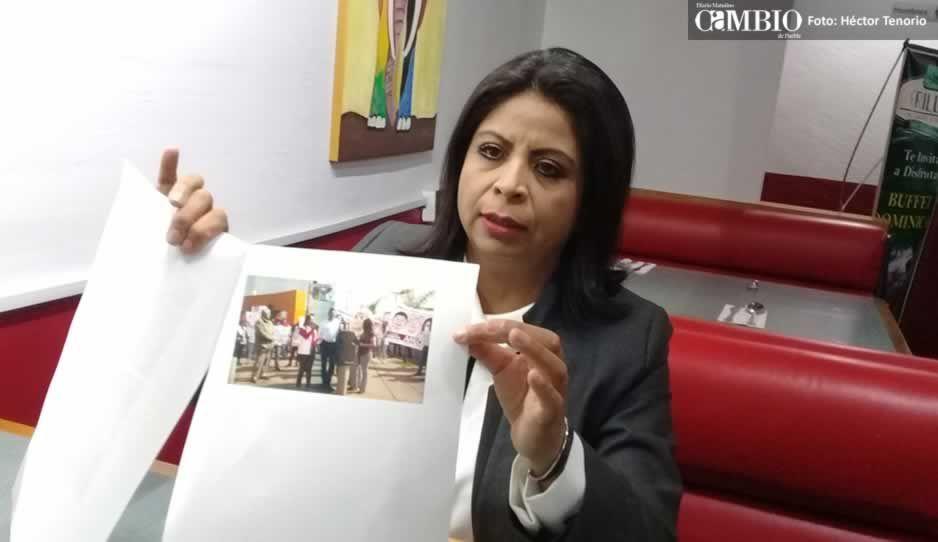 Denuncian a Norma Layón Aarum por actos anticipados de campaña
