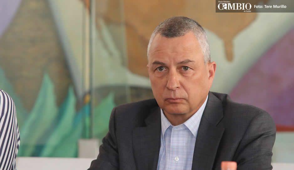 Carrancá reconoce presencia en Puebla de Los Zetas, células del CJNG y grupos de Michoacán