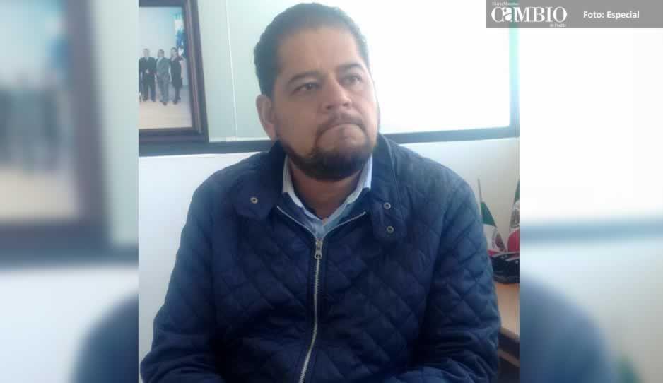 Tomás Arturo Tostado es el encargado de despacho en Texmelucan; Congreso definirá si se queda como edil suplente