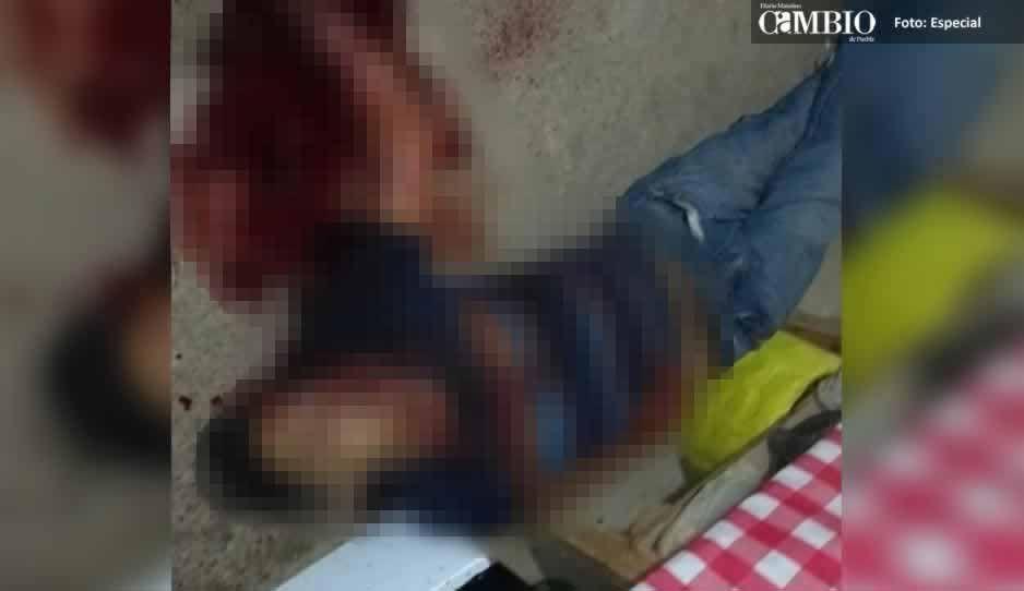 Ejecutan a un hombre al interior de su domicilio en Tlalancaleca