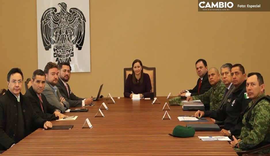 Abdala se ausenta de la primera reunión de Seguridad con Martha Erika pero envió un representante