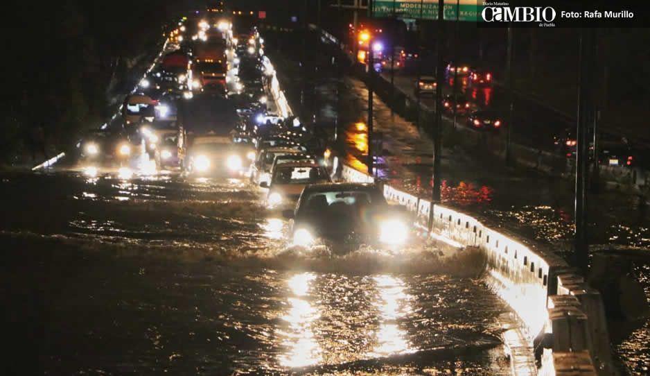 Depresión Tropical 19-E ocasionará fuertes lluvias en Puebla
