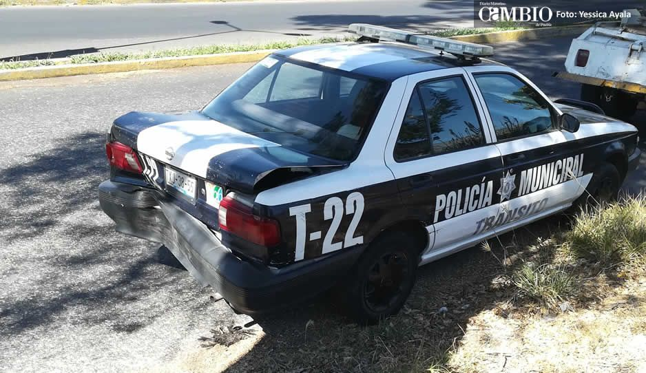 Demandan más patrullas y armamento para policías municipales en Atlixco
