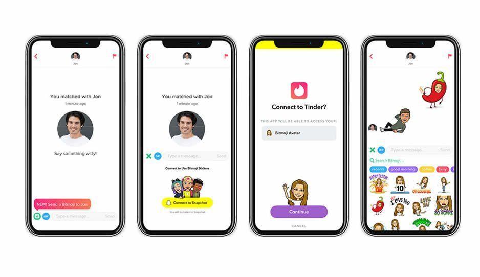 Tinder integra los Bitmojis a su app en México