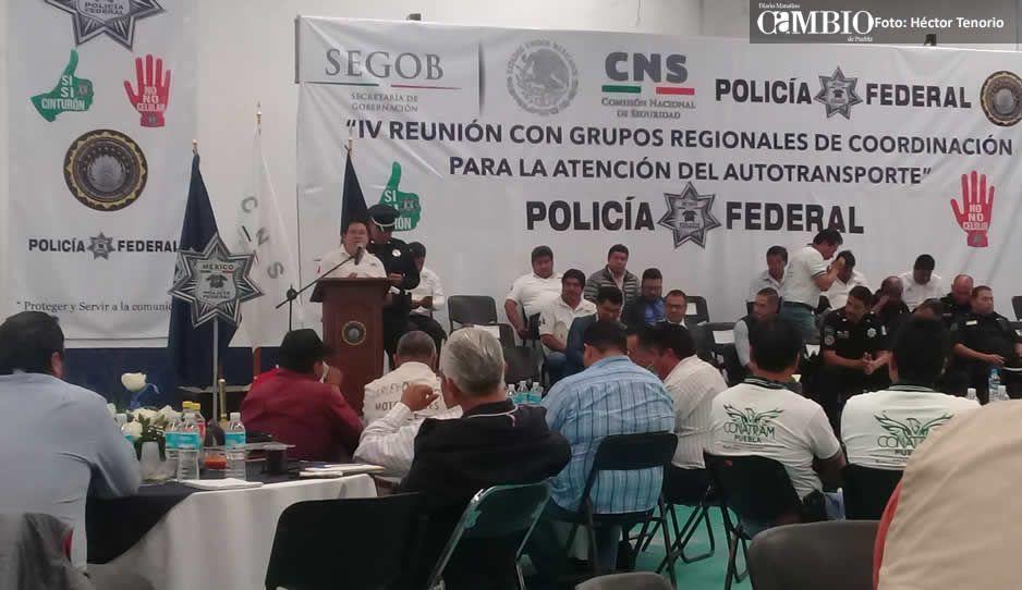 Transportistas de Texmelucan denuncian extorsiones de la policía federal y municipal