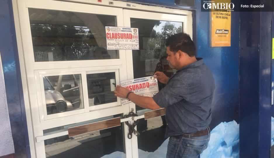 Inseguridad en Texmelucan ha generado el cierre de centros nocturnos