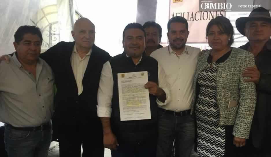 El ex priista Eleazar Pérez busca nuevamente la alcaldía de Atlixco ahora con MC