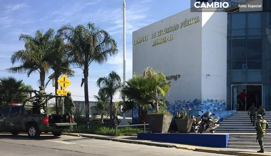 Instalan Base de Operaciones Mixtas con 30 elementos de Guardia Nacional en Cuautlancingo