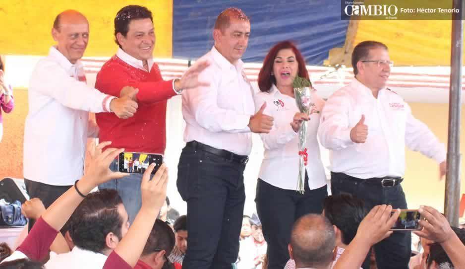 Doger acompaña a candidatos del PRI en Texmelucan en su arranque de campaña