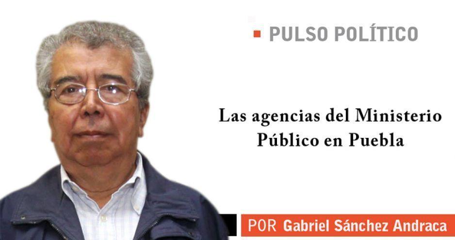 Las agencias del Ministerio Público en Puebla