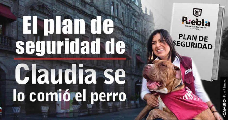 Debut para el olvido de Claudia: su plan de seguridad se lo comió el perro