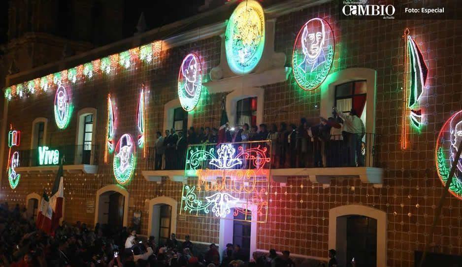 Galeazzi Berra da su último Grito de Independencia como presidente de Atlixco
