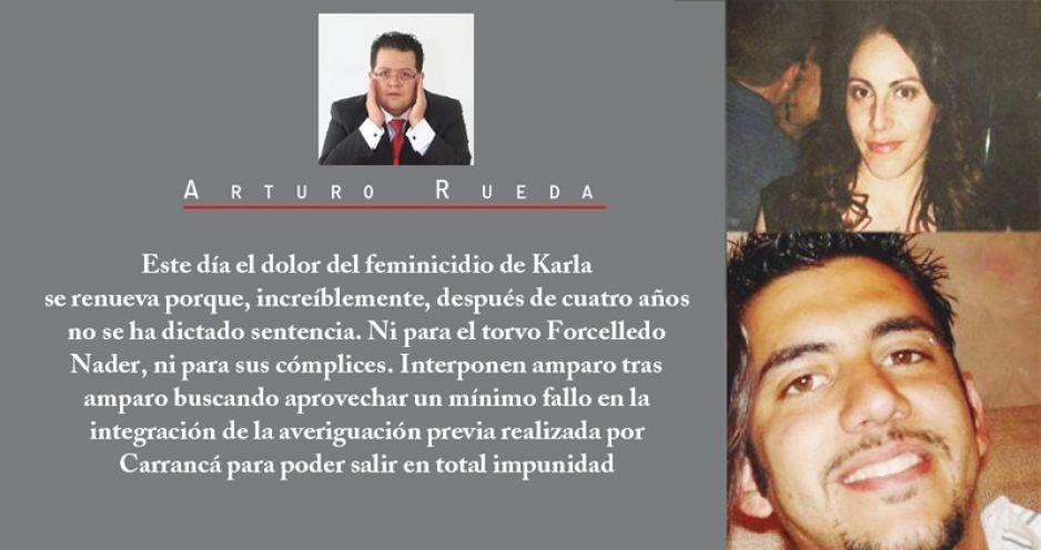 En el aniversario del feminicidio de Karla López Albert