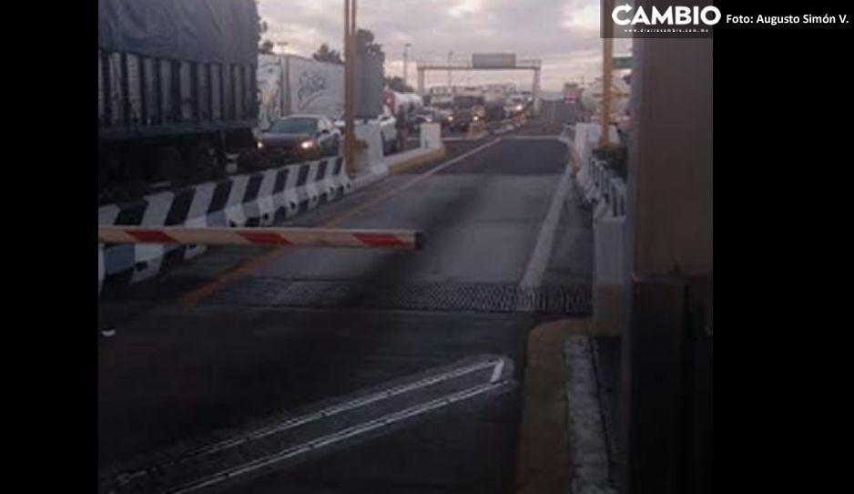 Abren la Puebla-Orizaba pero no avanzaban porque los choferes se durmieron