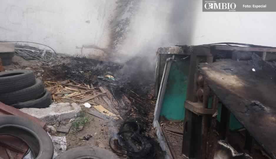 Columna de humo negro causa alarma a vecinos de La Purísima