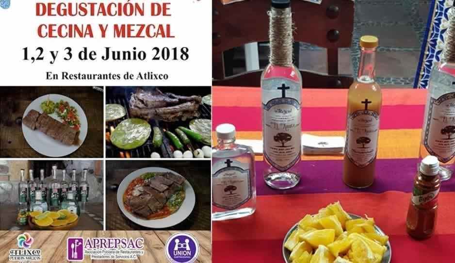 Preparan Festival de la Degustación de la Cecina y el Mezcal en Atlixco