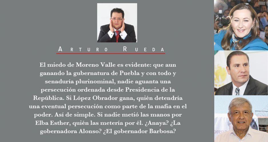 Los miedos de Moreno Valle y la agresividad de López Obrador