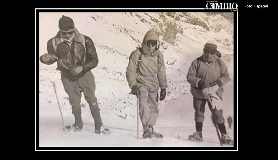 Enrique García Romero, Juan Espinosa Camargo y Manuel Campos son los alpinistas cuyos cuerpos fueron rescatados