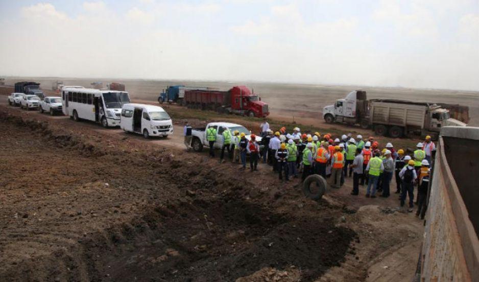 Las obras en el NAICM se cancelaran hasta el 4 de enero: Javier Jiménez Espirú