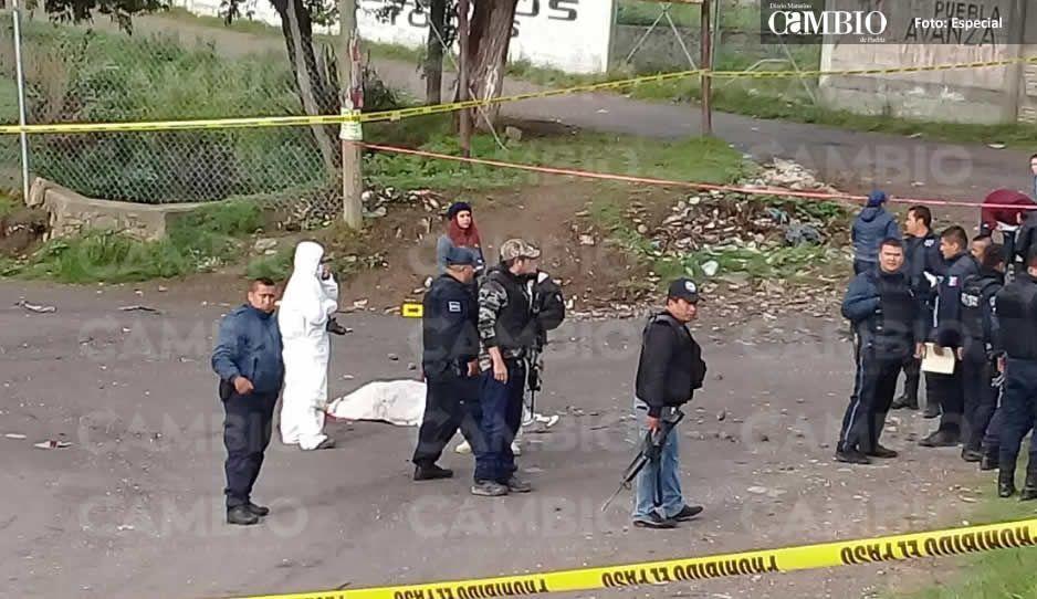 Ejecutan a hombre en la Texmelucan - Tlaxcala