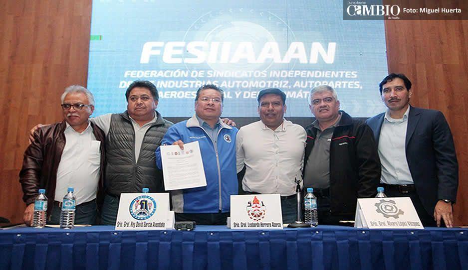 Crean Federación de sindicatos de empresas automotrices para hacer frente común a la crisis de 2019