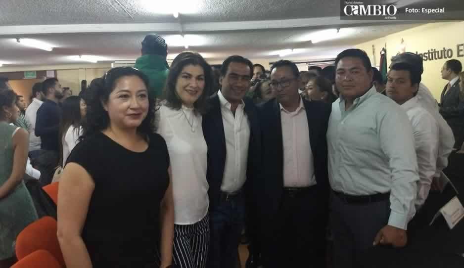 Candidatos del PVEM en la región de Texmelucan fueron militantes del PRI