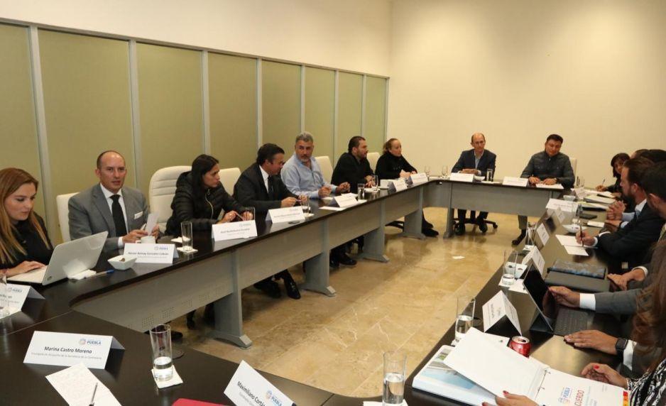 Gabinete de Martha Erika se reúne para plantear estrategias y garantizar gobernabilidad en Puebla