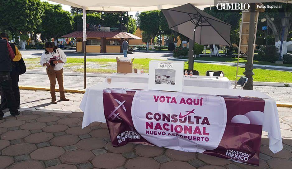 Instalan mesa de consulta para la construcción del nuevo aeropuerto en San Andrés Cholula