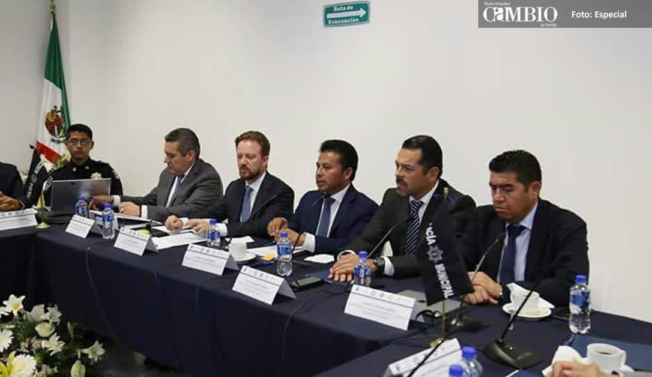 San Andrés Cholula mantiene coordinación para garantizar seguridad en el municipio
