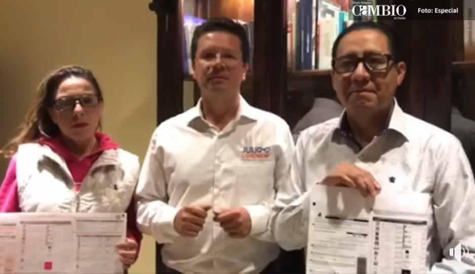 VIDEO: Lorenzini asegura que se inflaron urnas y en otras casillas faltaron boletas