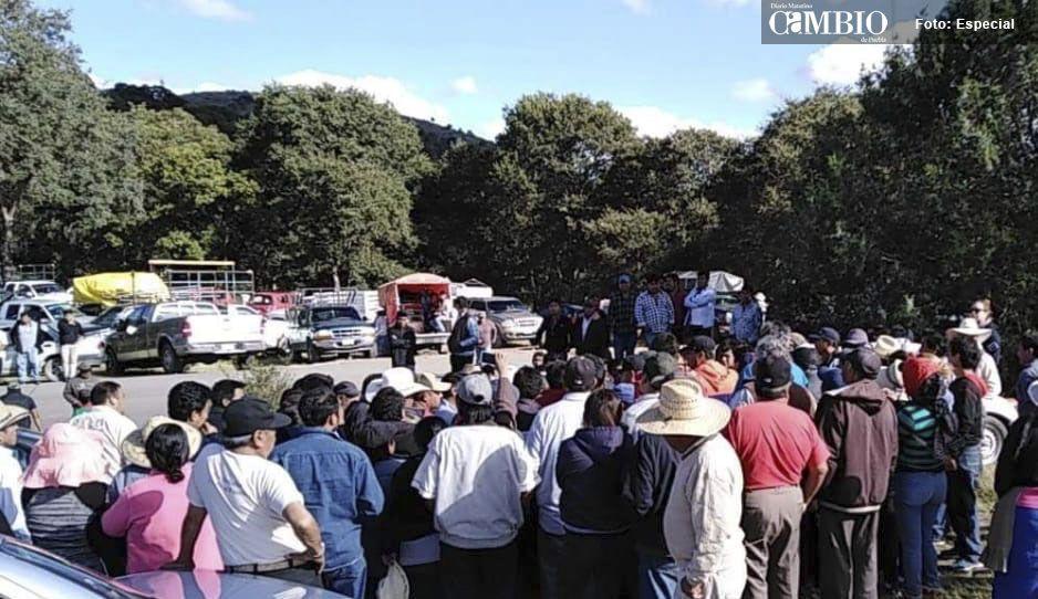 Antorchistas se quieren apoderar de terrenos de Chachapa