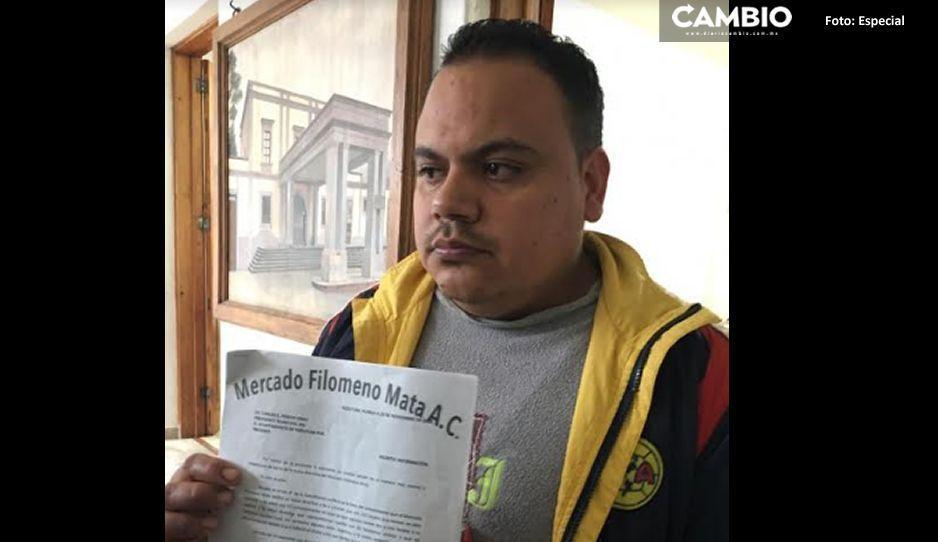 Comerciantes de Teziutlán denuncian imposición del edil para designar representantes
