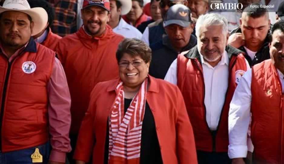 Intimidan a candidatas del PRI en gira de campaña en Atlixco