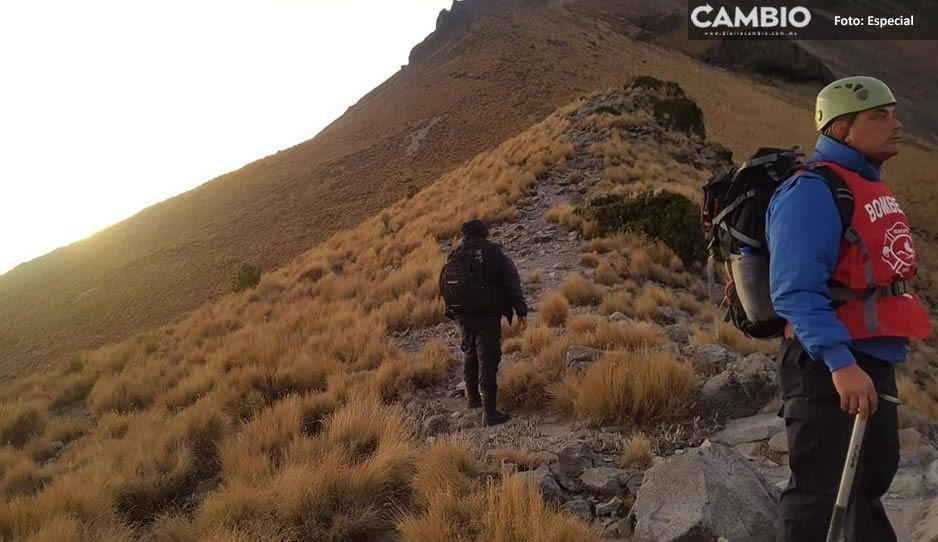 Se extravían jóvenes en La Malinche, SSP ya inició el rescate
