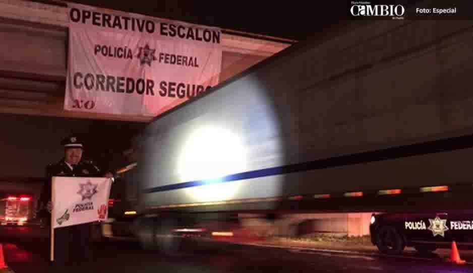 Policía Federal blinda la México-Veracruz para proteger a transportistas