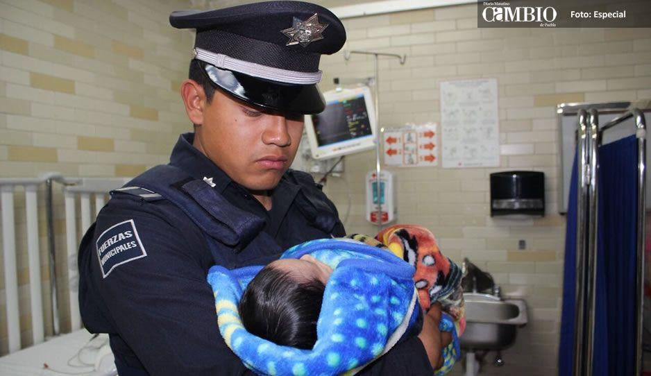 Identifican a papás que abandonaron a su bebé en Puebla