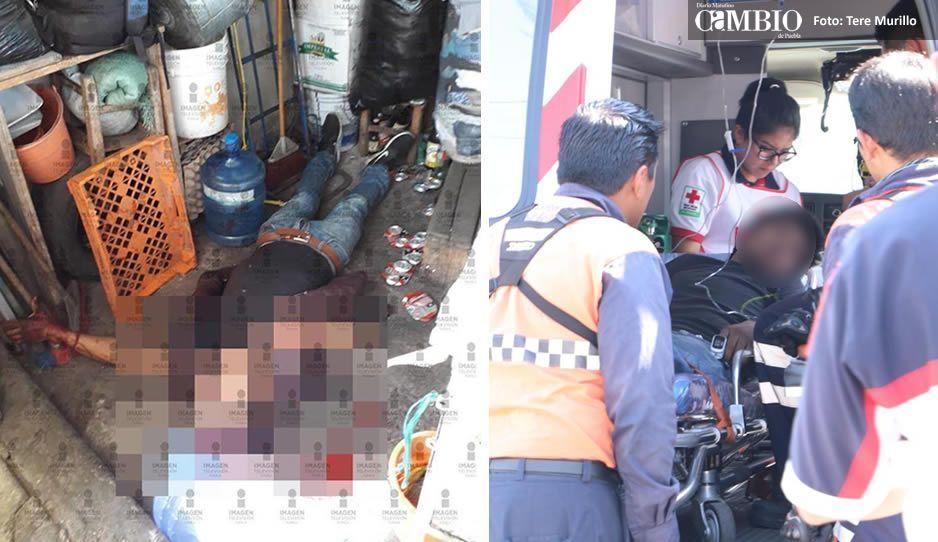 Balacera en el mercado La Unión deja dos muertos y dos heridos (FOTOS y VIDEO)