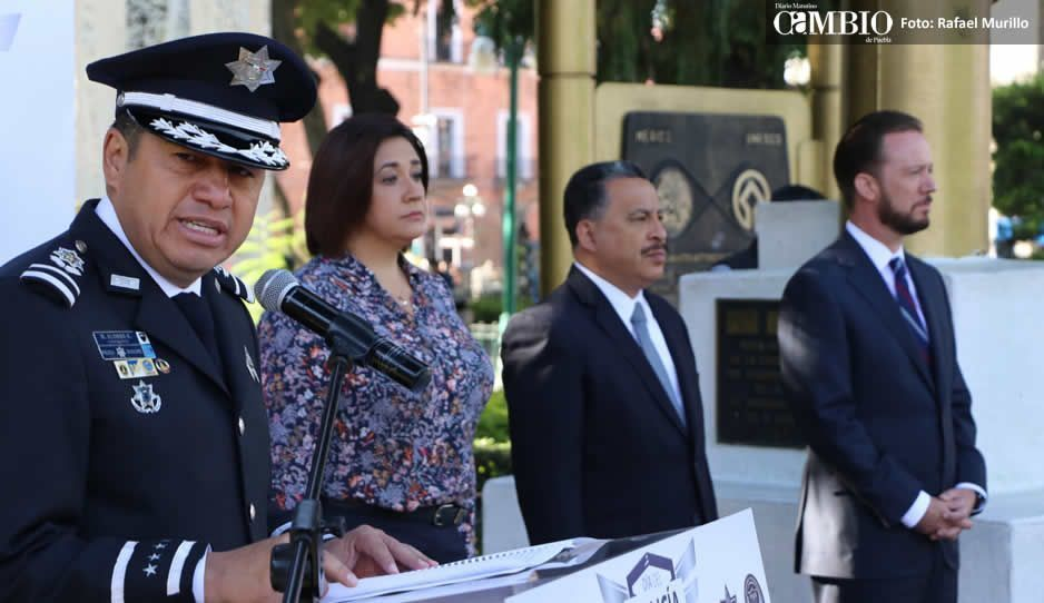 Alonso promete a policías aumento salarial del 5%