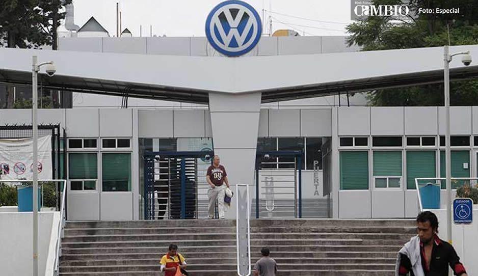 Termina contingencia en la Volkswagen, Protección Civil controla la fuga