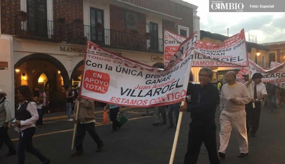 Continúa rebelión vs Eleazar en Atlixco: morenistas siguen en contra de su candidatura