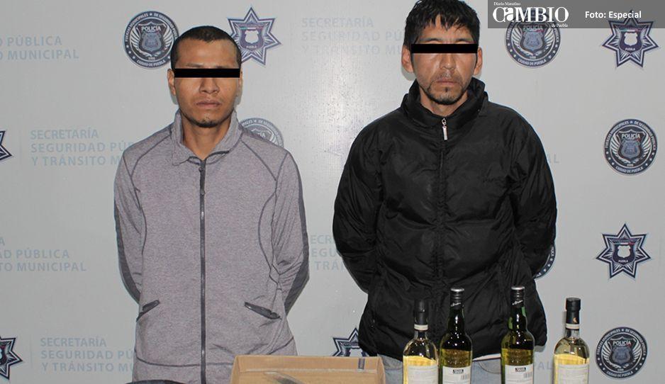 Con botón de alerta SSPTM detiene a dos presuntos ladrones