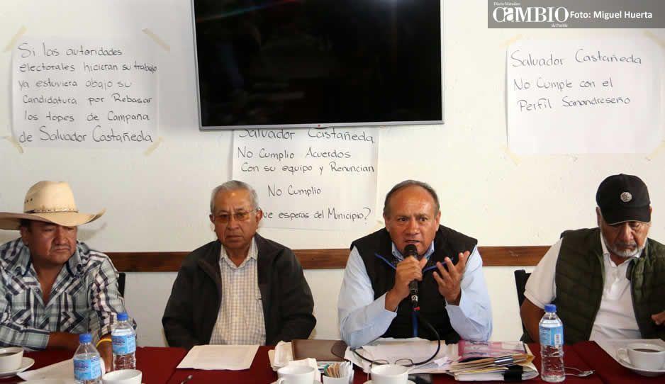 Ex ejidatarios de San Andrés rechazan votar por Morena: no queremos a la izquierda