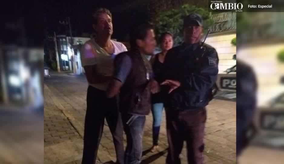 Vecinos someten a ladrón en Tecamachalco